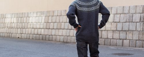 tone / NORDIC OVER SWEATER
