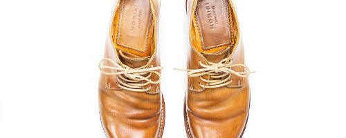 NORIEI / UNFINISHED OILED CORDOVAN