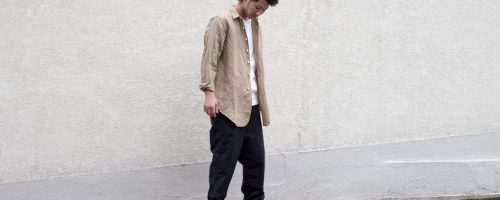 PHIGVEL MAKERS Co. / LONG SMALL COLLAR SHIRT